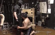BDSM bear in action