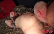 Fat dudes having bareback sex