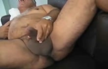 Amateur Daddy Cumming On Cam