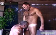 Two Musclebears Garrett Knoxx and Brock Hart fucking