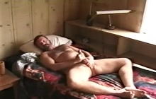 Unshaved Bear Jackoff