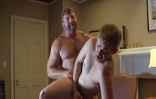Kinky dude barebacked by a bear