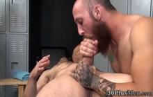 Horny bear gets ass railed