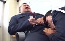 Japanese police bears