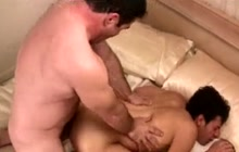 Twink and bear fucking each other
