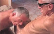 Naughty mature gay guys