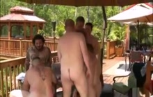 Bears Outdoor Group Orgy