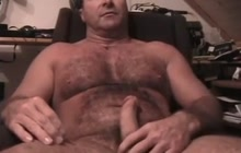 Daddy jacking off