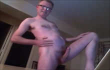 Kinky daddy masturbating on webcam