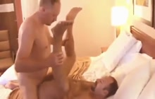 Crazy bears fucking in the bedroom
