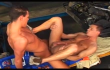 Racers having anal sex