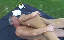 Outdoor gay session