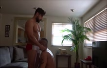 Amateur muscled dudes fucking