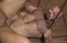 Amazing flip flop bareback sex