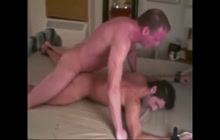 Hot guy bound and fucked deep by mature boyfriend