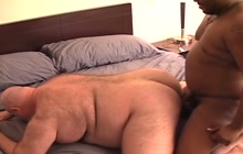 Sunshine Bear and Sebastian Ice interracial action