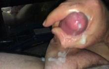Masturbation and slow motion cumshot video